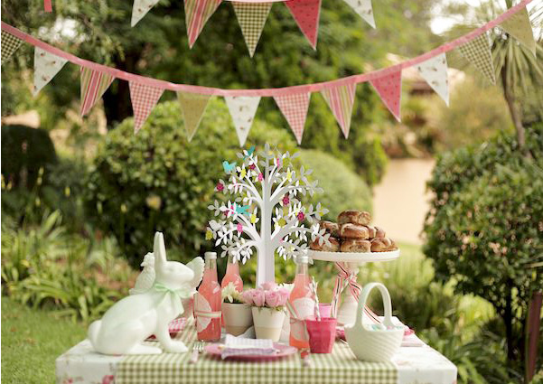 Vintage Easter Party Inspiration DIY Ideas