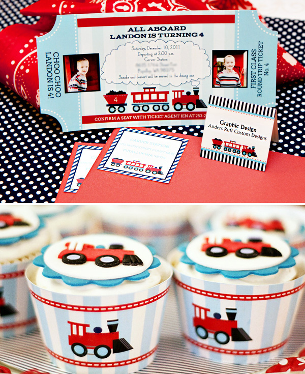 Adorable Train Party Inspiration DIY Ideas Partyideasforkids